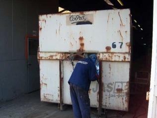 Herstellen container