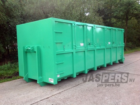 Container 7500x2300x2300 met zijdeuren