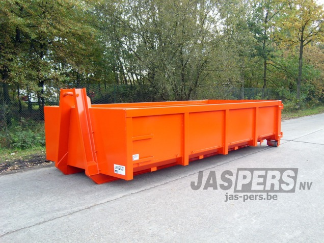 Container met haaksysteem