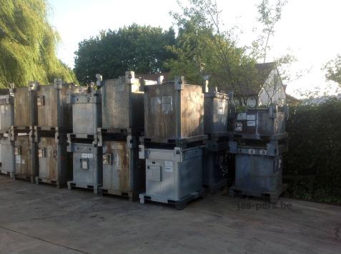 Herstelling van ASF ASP en ADR containers
