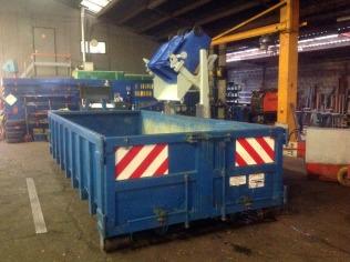 DIN / KAM - kipsysteem voor rolcontainers